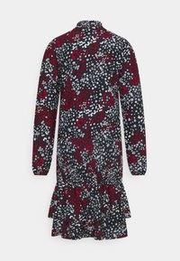 Dorothy Perkins - SHEERED MINI ANIMAL - Jersey dress - black - 1