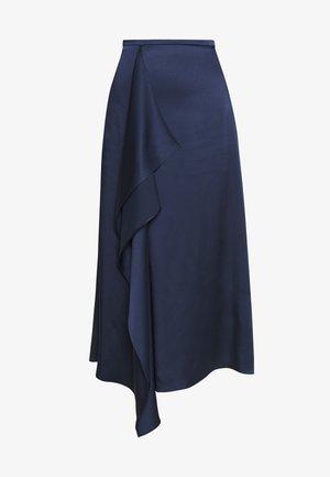 ROWERA - Jupe trapèze - open blue