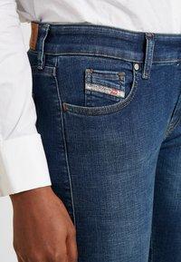 Diesel - SLANDY LOW - Jeans Skinny Fit - indigo - 3