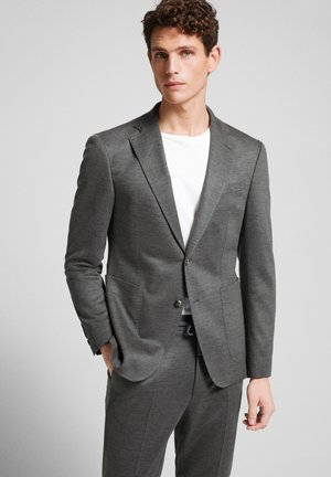 Suit jacket - grau melange