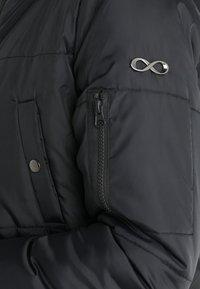Modern Eternity - FAITH 3-IN-1 THIGH BOMBER PUFFER COAT - Winter coat - black - 7