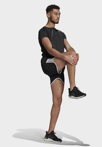 adidas Performance - Marathon 20 SHORT RESPONSE AEROREADY RUNNING REGULAR SHORTS - Träningsshorts - black - 1