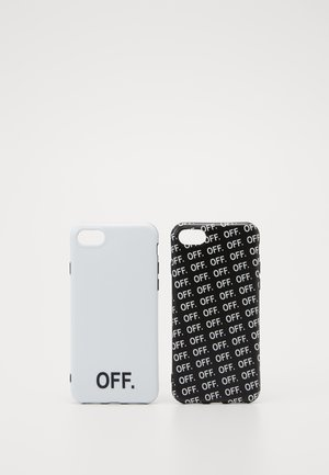 OFF PHONE CASE SET - Etui na telefon - black/white