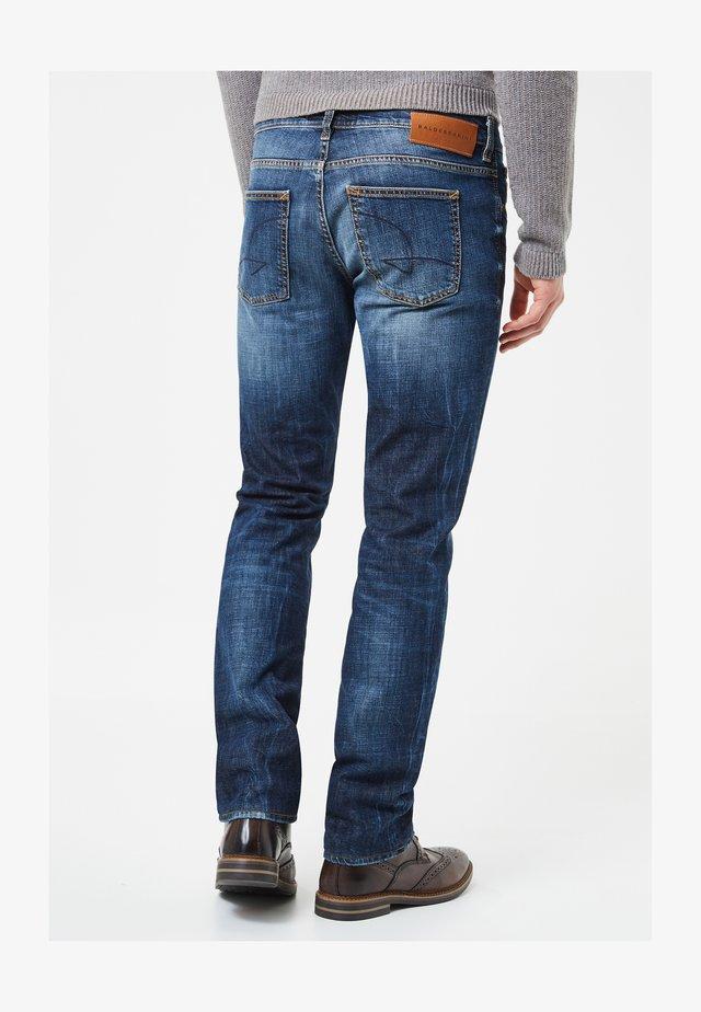 JOHN - Jeans straight leg - blau