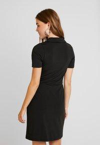 Even&Odd - Vestido de tubo - black - 3