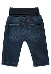 Steiff Collection - MIT NIEDLICHEM TEDDYBÄR - Straight leg jeans - mood indigo - 1