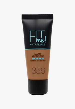 FIT ME MATTE & PORELESS MAKE-UP - Foundation - 356 warm coconut