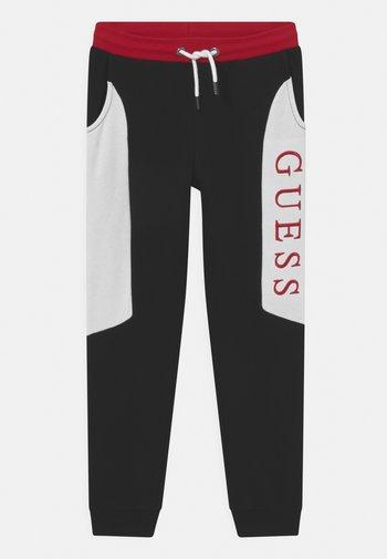 JUNIOR ACTIVE LONG UNISEX - Pantaloni sportivi - red/black
