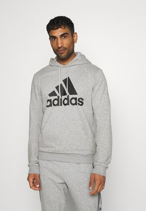 ESSENTIALS SPORTS INSPIRED HOODED - Hoodie - medium grey heather