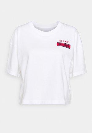 PARIS ST GERMAIN TEE - Klubové oblečení - white