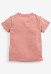 Next - T-shirt print - pink - 1