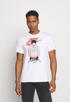 AIR MANGA FUTURA MAN - T-shirt con stampa - white