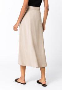 HALLHUBER - A-line skirt - hellbeige - 1