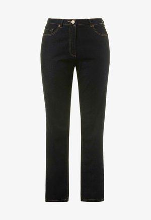 STRETCH  - Straight leg jeans - dark blue denim
