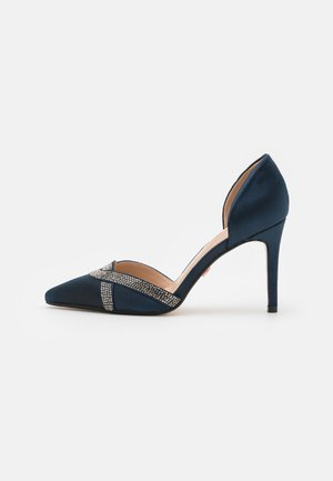 GLAMOUR 2 PART HEATSEAL COURT - Classic heels - navy