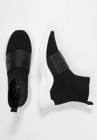 Calvin Klein - UNI - Korkeavartiset tennarit - black - 3