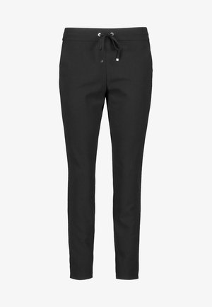 MIT GALONSTREIFEN - Tracksuit bottoms - black