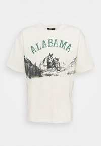 Jaded London - ALABAMA HORSE - T-shirt imprimé - white - 0