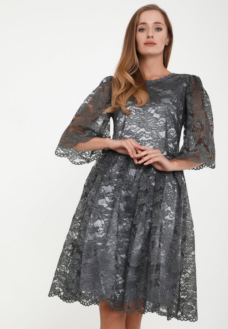 Madam-T - SNEZANA - Cocktail dress / Party dress - grau