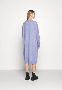Monki - Jumper dress - blue solid - 2