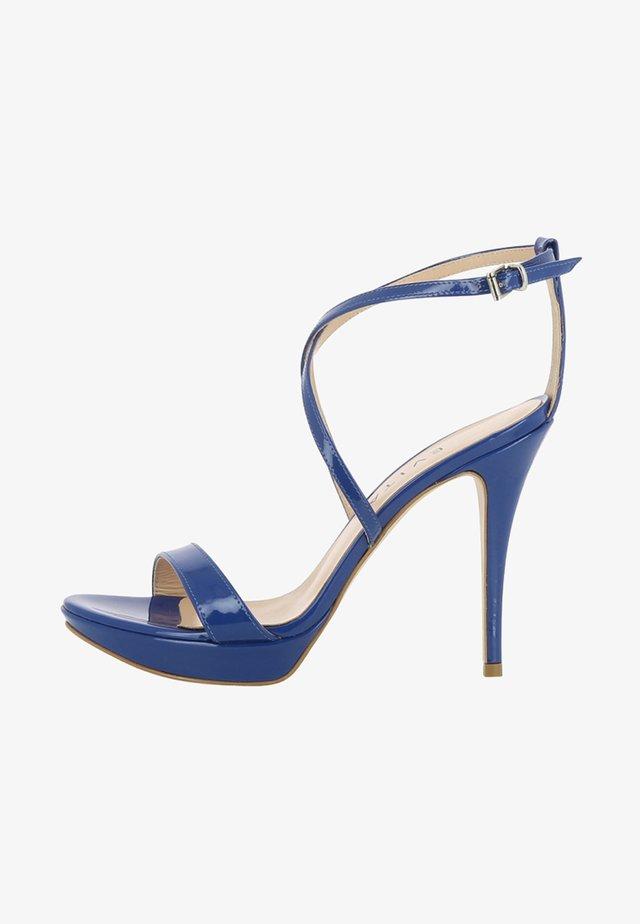 VALERIA - Sandalias de tacón - blue