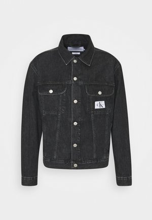REGULAR JACKET - Jeansjacka - black