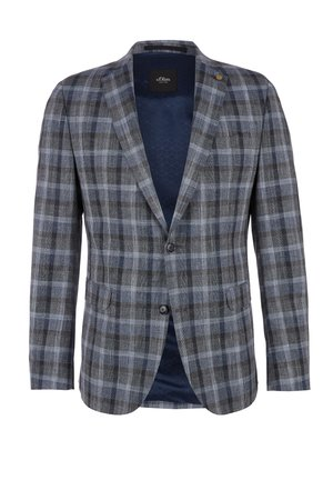 LIMITED EDITION GLENCHECK - Blazer jacket - blue check