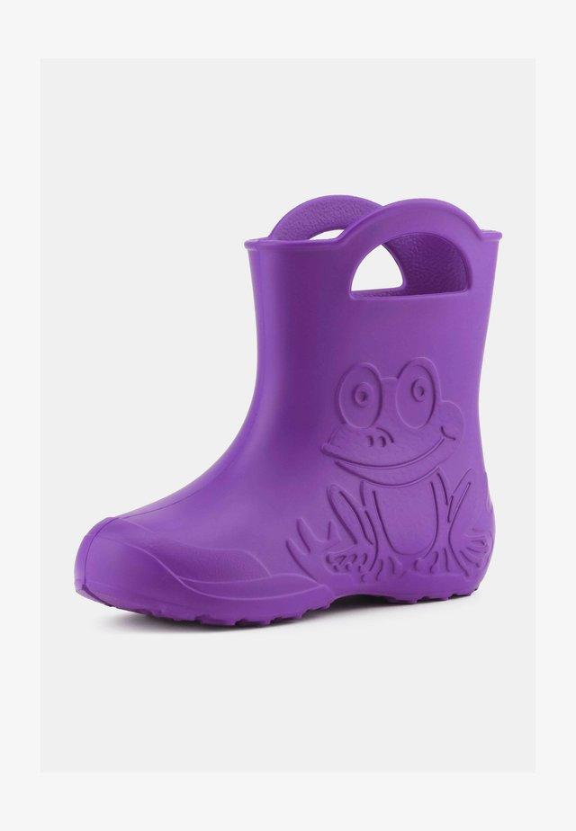 Wellies - purple