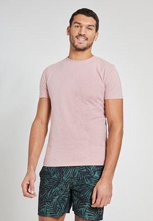 ROBBERT SOFT SOLID - Basic T-shirt - old rose pink