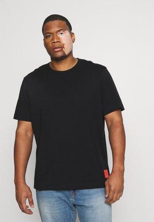 BADGE TEE - Print T-shirt - black