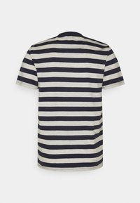 Selected Homme - MAXWELL ONECK TEE - Print T-shirt - sky captain/melange - 6