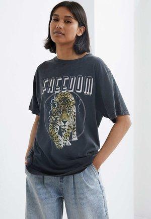 LIGHTNING - T-shirt print - dark grey