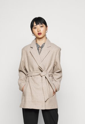 ONLTRILLION BELT COATIGAN  - Short coat - humus