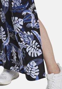 TOM TAILOR DENIM - TROPICAL  - Maxi dress - black blue tropical print - 5