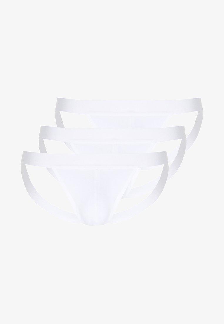 Zalando Essentials - 3PACK JOCK STRAP - Briefs - white