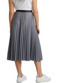 Esprit - A-line skirt - gunmetal - 2