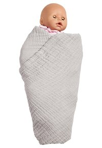 Nordic coast company - 4-IN-1 - Muslin blanket - grey - 2