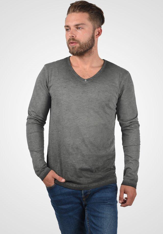 Long sleeved top - dark grey