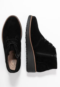 Clarks - SHARON HOP - Ankelboots - black - 3