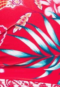 Pour Moi - HORIZON PADDED UNDERWIRED TIE - Bikinitop - red/white - 3