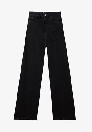 MIT EXTRA WEITEM BEIN - Široké džíny - black