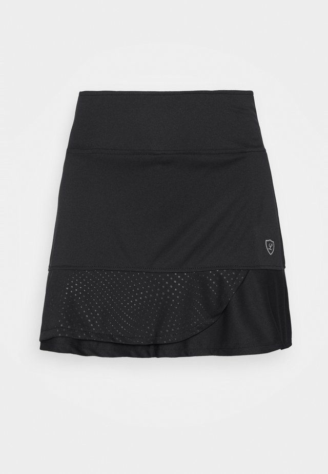 SKORT SOLE - Rokken - black