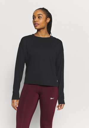 SUPREMIUM LONG SLEEVE - Treningsskjorter - black