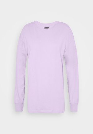 Long sleeved top - lilac