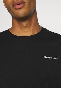 Zign - UNISEX - Print T-shirt - black - 4