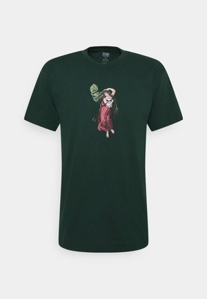 BEAST OF BURDEN - T-shirt z nadrukiem - forest green
