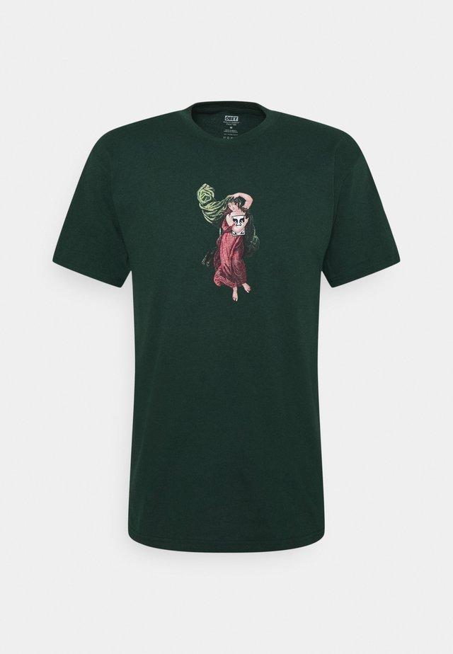 BEAST OF BURDEN - T-shirt med print - forest green