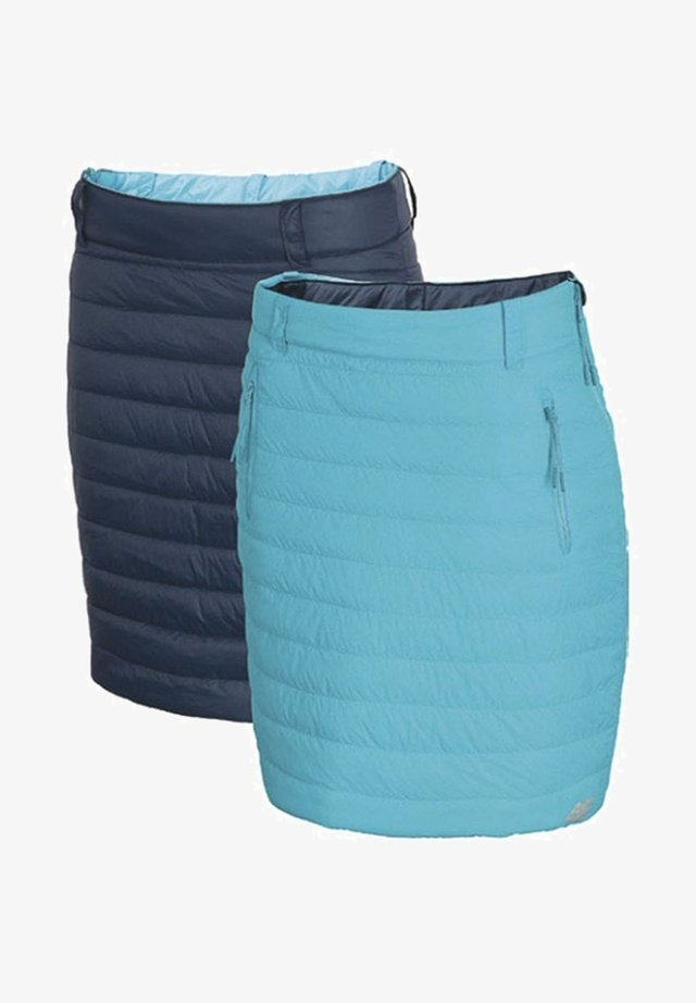 Pencil skirt - turquoise