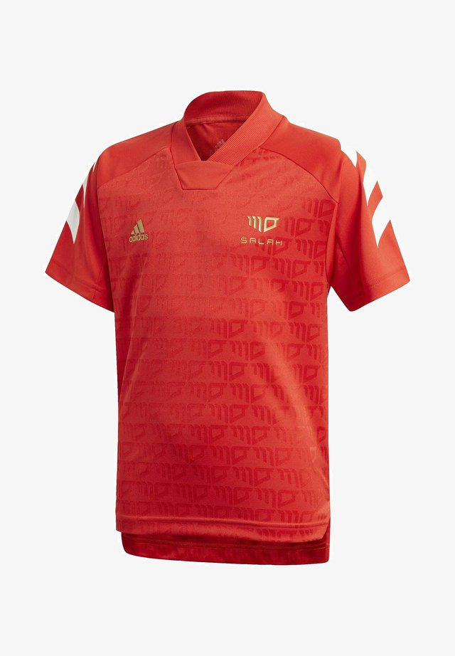 PRIMEGREEN JERSEY - Print T-shirt - red
