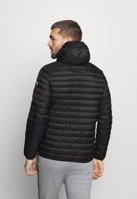 Champion - HOODED JACKET - Training jacket - black - 2